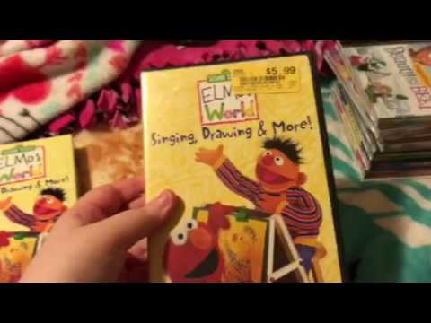 2 Different Versions Of Elmo S World Singing Drawing And More