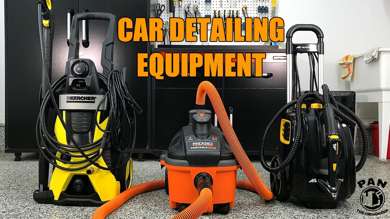 Equipment For Auto Detailing Pressure Washer Vacuum And