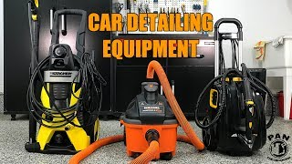 EQUIPMENT FOR AUTO DETAILING: Pressure Washer, Vacuum and Steam Cleaner !!