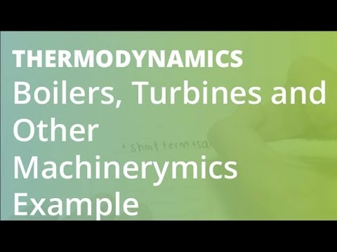 Boilers, Turbines and Other Machinery | Thermodynamics - YouTube