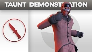 Repeat youtube video Taunt replacement Demonstration: Spy Shuffle