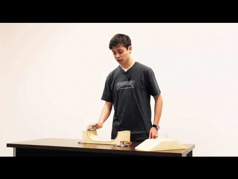 How To Transition Fingerboard On Ramp | Fingerboarding