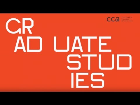 Graduate Programs at California College of the Arts (CCA)