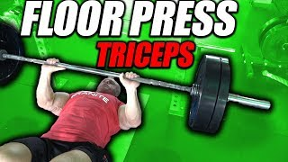 Exercise Index - Floor Press For Triceps