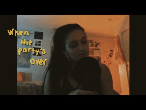 when the party's over- billie eilish(cover)
