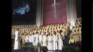 """All In His Hands"" FBCG Combined Mass Choir"