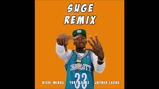 DaBaby, Nicki Minaj - Suge (Official Remix) (Official Audio) Ft. Joyner Lucas & Tory Lanez
