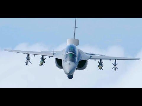 Leonardo - M-346FT Advanced Trainer/Light Attack Aircraft With Full Combat Load [1080p]