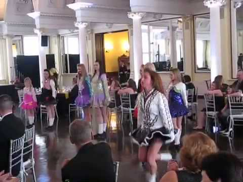 An Clar School of Irish Dance Performs At Canfield Casino W
