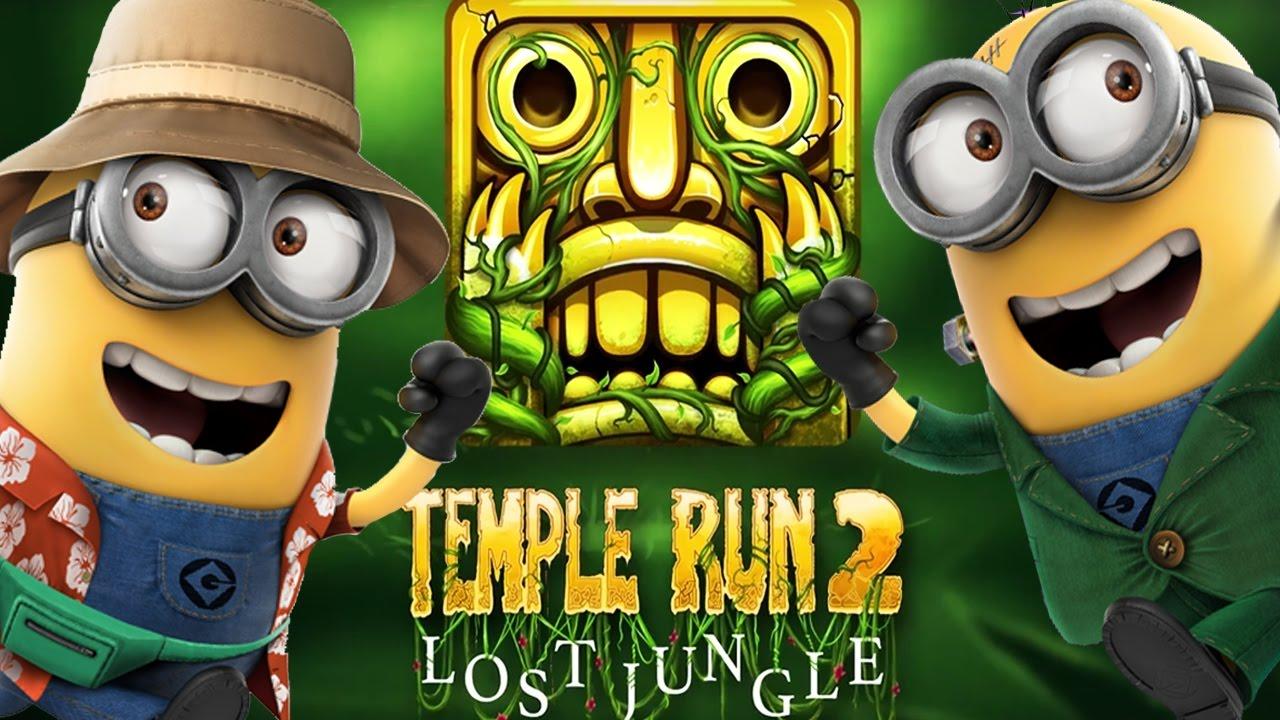 Despicable Me 2 Minion Rush Vs Temple Run 2 Lost Jungle