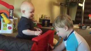 Epic Binky Battle! (Canadian Baby Fighting)
