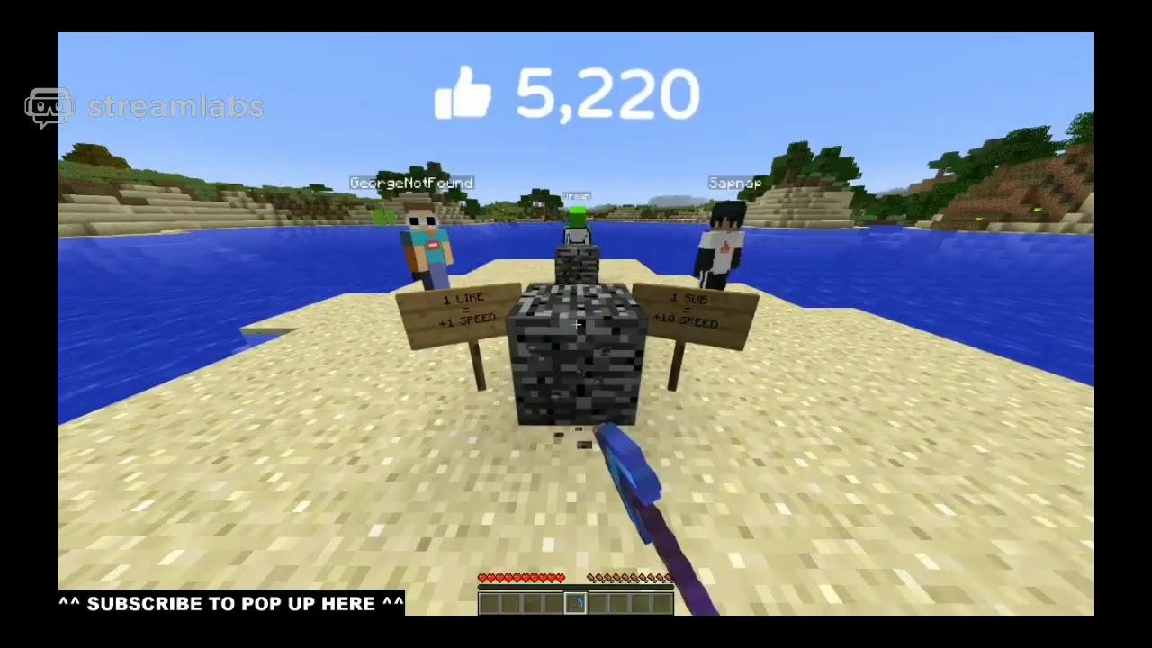 Download First to Break Bedrock in Minecraft wins $20,000! (ft. Dream, MrBeast, GeorgeNotFound, Sapnap)