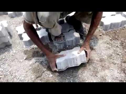 interlocking paver block  dmoulding video