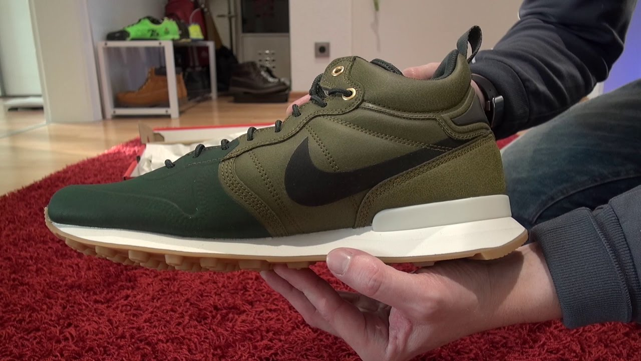 check out 97586 07af7 Nike - Internationalist Utility - Olive-Flak - Unboxing - MusicVersion