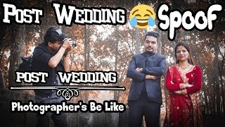Gambar cover Photographer's these days be like |Spoof| ||Post Wedding||Comedy video|