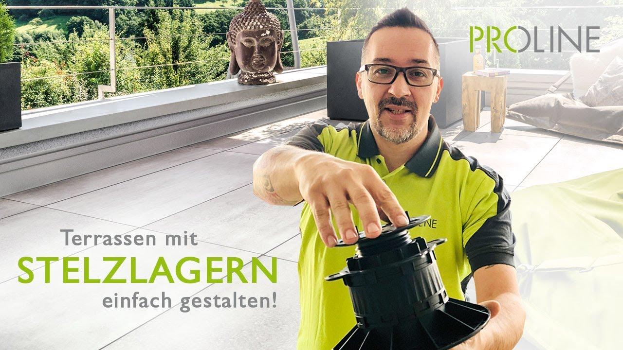 Favorit PROSTILT: Stelzlager für Terrassen und Balkonplatten HR18