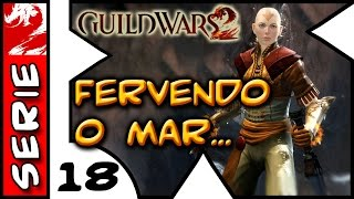 Avatar Aang FERVENDO o Mar Gelado . Guild Wars 2 . 1080p 60fps