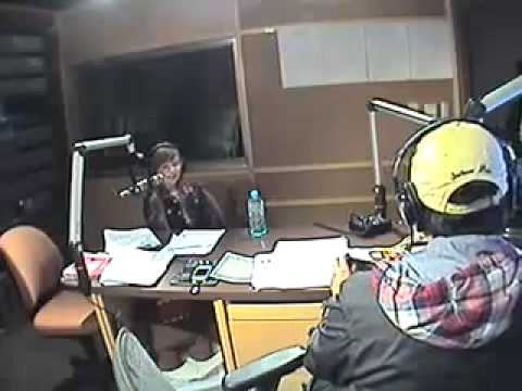 Connie Talbot on Radio ICRT FM 100 Taiwan 19 dec 2012 pt-1