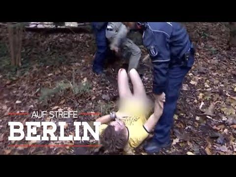 Nackter Mann im Busch: Hose im Club vergessen? | Auf Streife - Berlin | SAT.1 TV