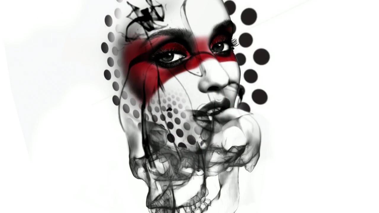 Digital tattoo design on iPad Pro using Procreate - YouTube