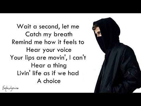 Sing Me To Sleep - Alan Walker (Lyrics)