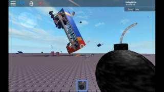 ROBLOX, EPIC BUS CRASH