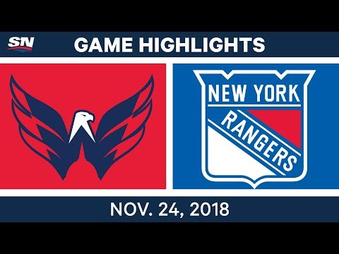NHL Highlights | Capitals vs. Rangers – Nov. 24, 2018