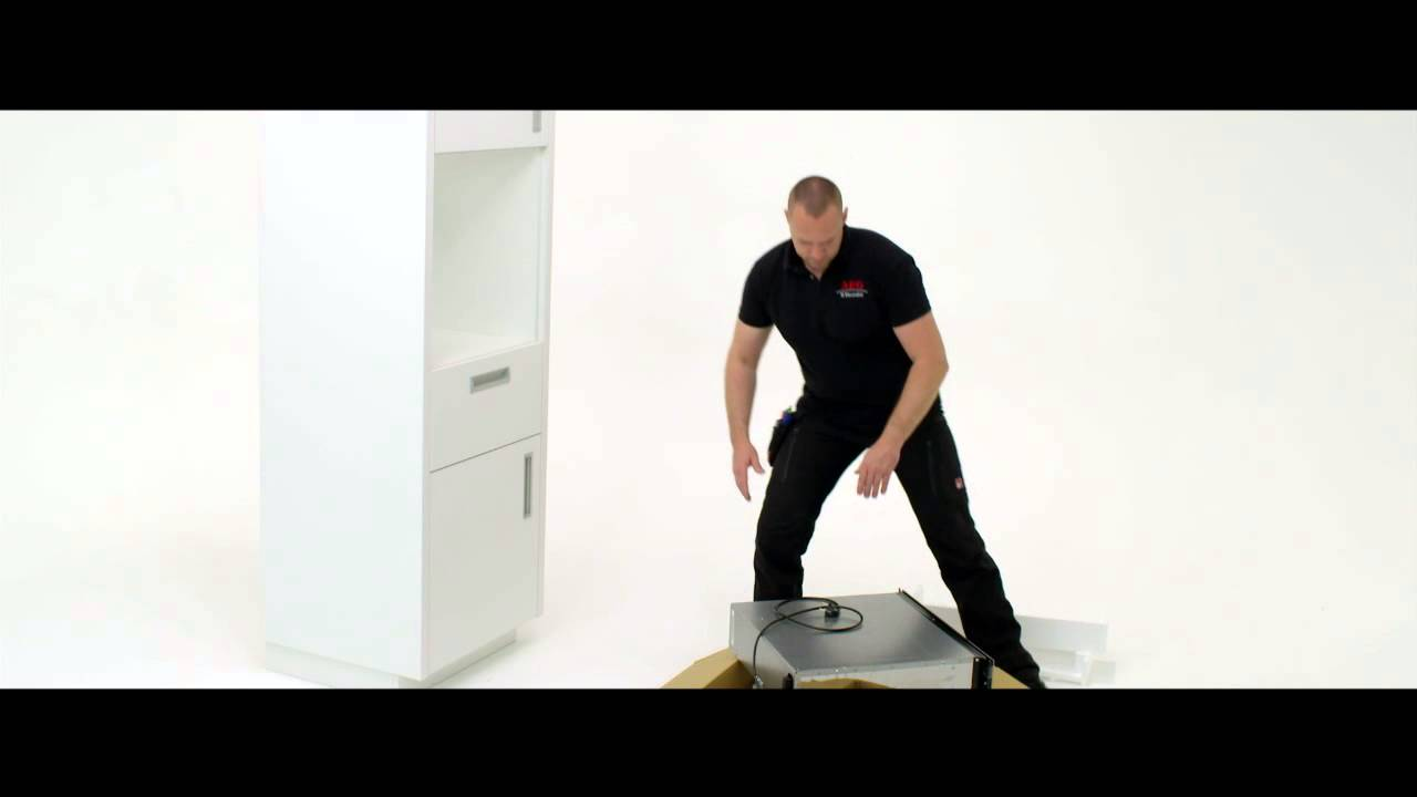 Aeg How To Install Built In Warming Drawer Column Demonstration Youtube