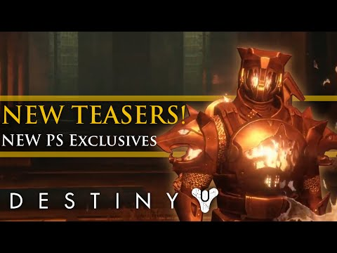 Destiny - Rise of Iron: New Gamescom Info & teasers! PS Exclusives! New Iron Banner Armor!