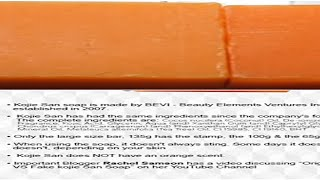 How to Spot Authentic Kojie San Kojic Acid Soap from a Counterfeit