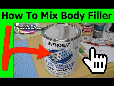 How To Mix Auto Paint With Hardener