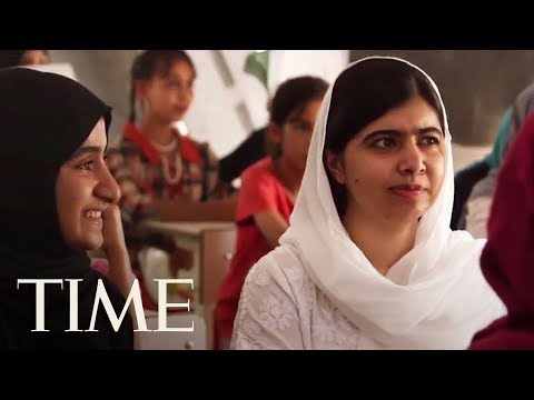 Malala Yousafzai Visits Iraq To Meet Girls Living Under ISIS: We Have To Support These People | TIME