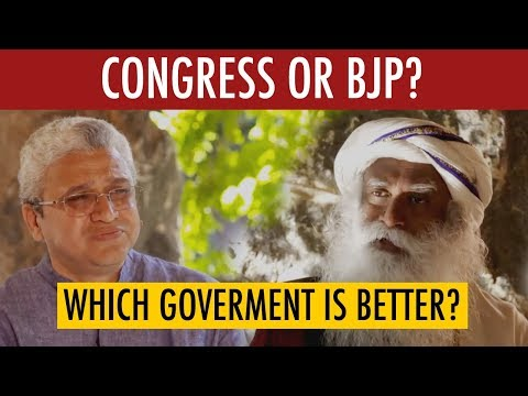 Sadhguru Talks - Since 1947 which has been the best government?   Mystics of India