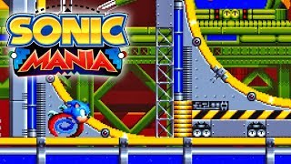 [WR] Sonic Mania - Chemical Plant Act 2 Speedrun (Sonic) - 1:31.37