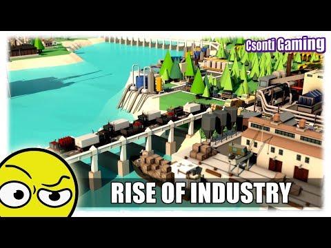 RISE OF INDUSTRY | Űzzük az ipart (Első látásra)