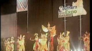 1MAY10 THAILAND ;1of2; Southern Expo 2010 Opening Ceremony ; Thun Kramom Ying ; Princess Ubolratana Rajakanya
