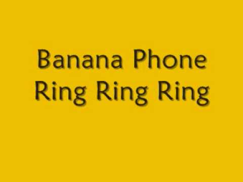 Raffi - Banana Phone [lyrics]