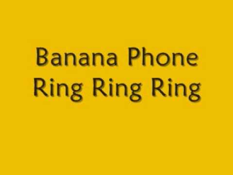 Raffi - Banana Phone [lyrics]