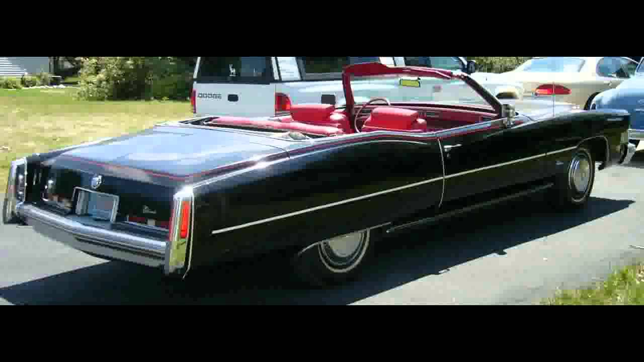 FOR SALE 1974 Cadillac El Dorado Convertible IN APPLETON WI