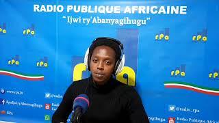 RPA: Journal du 11 Juillet 2020, présenté par Trésor NIYONGABO