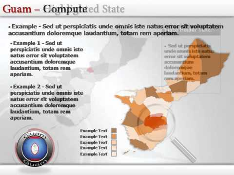 Interactive powerpoint Map for Guam