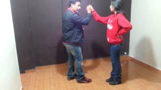 aprende a bailar los pasos basicos de la cumbia en pareja 2 principiantes