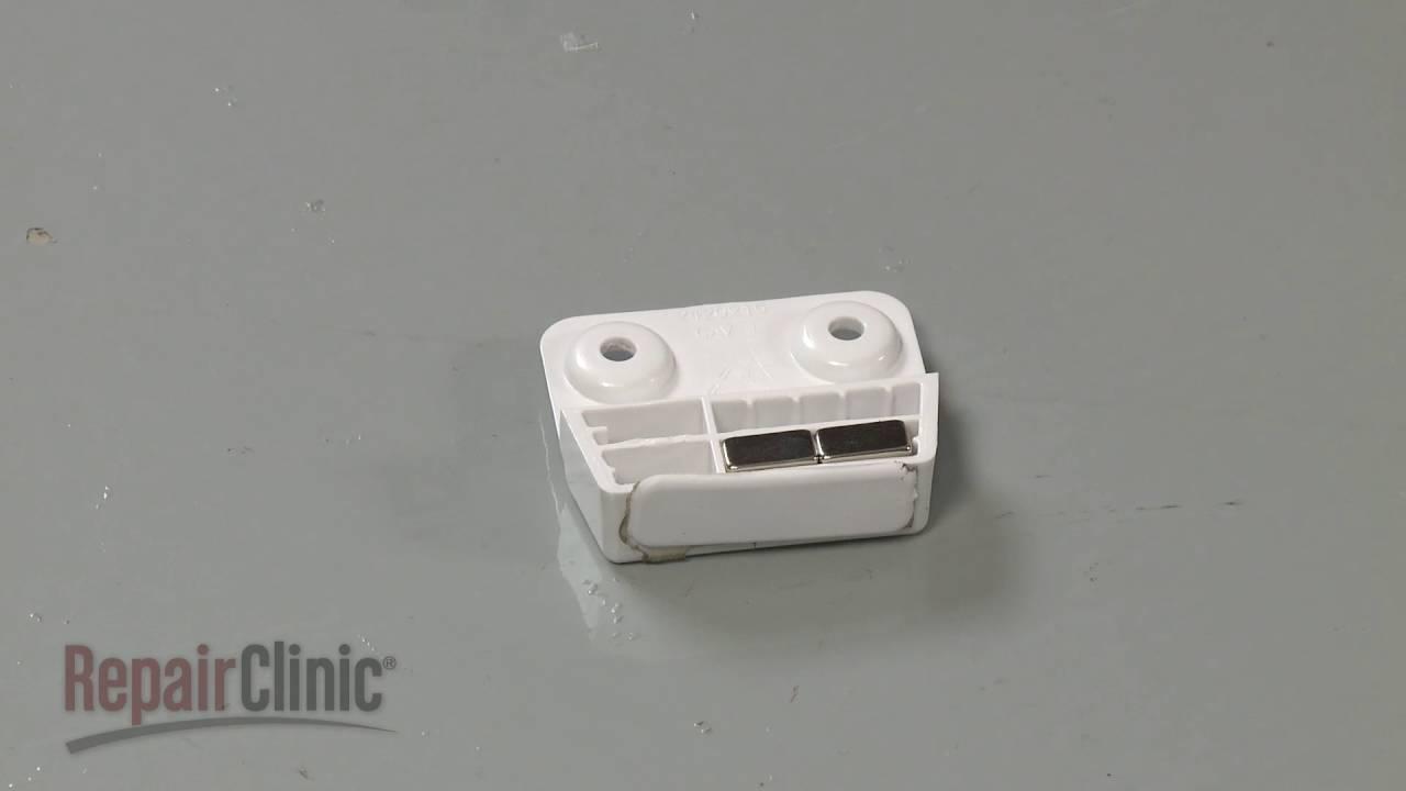 Frigidaire Refrigerator Door Magnet Replacement #241779101 & Frigidaire Refrigerator Door Magnet Replacement #241779101 - YouTube