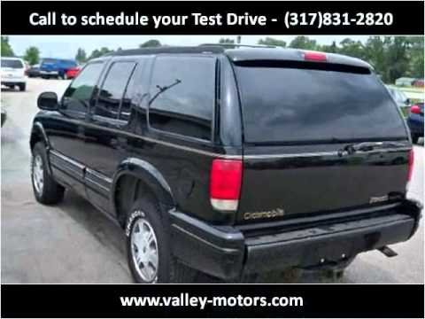 1996 Oldsmobile Bravada Available From Valley Motors