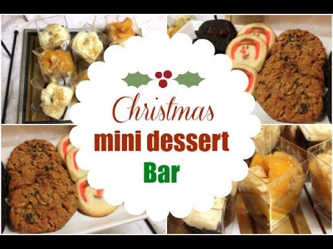 Mini Christmas Dessert Bar Ideas – I Heart Recipes