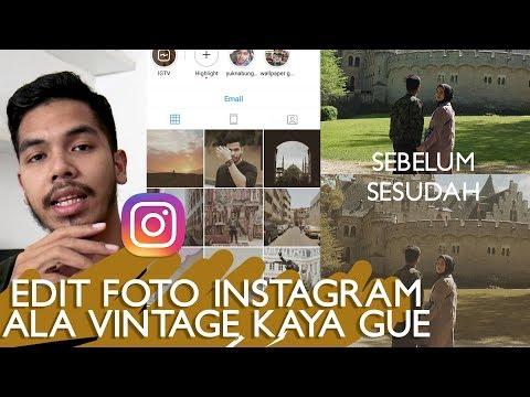 How I Edit My Instagram Photos (Vintage Vibes)