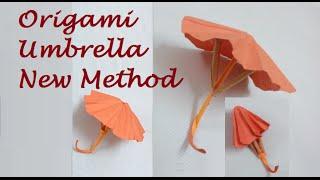 Origami Umbrella That Open and Closes