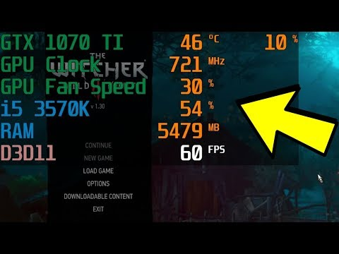 How To Display FPS, GPU, CPU Usage In Games