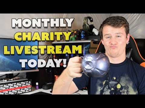 TODAY!!! Charity Livestream Announcement!