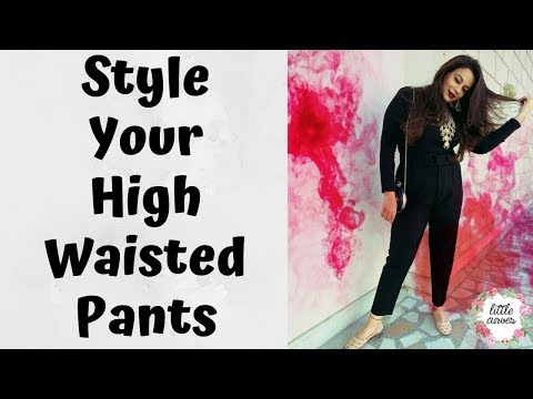 Styling Tips for Curvy Body || Look Stylish in High Waisted Pants. http://bit.ly/2zwnQ1x